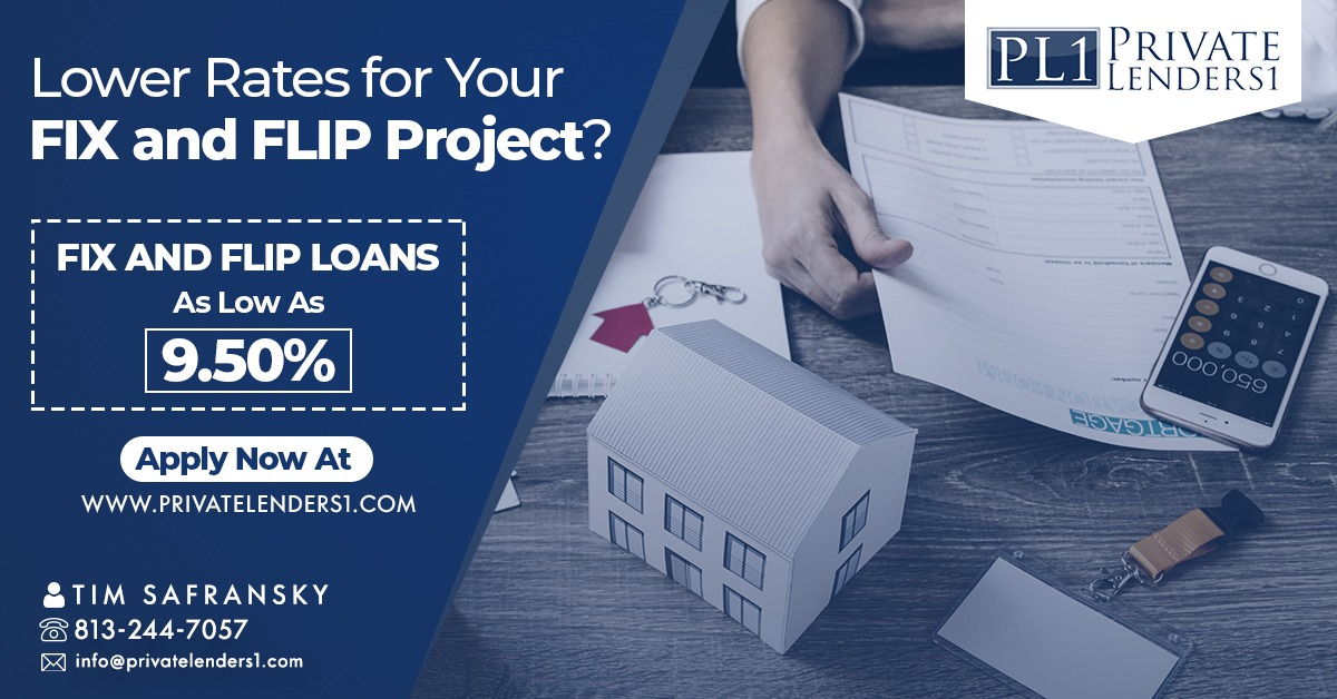 Private Lenders1 LLC, Introduces Fix and Flip Loan Project to Borrowers
