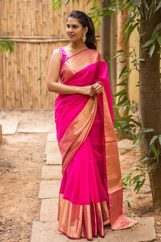 Wedding sarees from kanchipuram available at kanjivaram silks