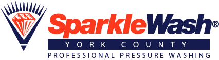 Keep The Property Clean with Sparkle Wash York County's Pressure Washing Services