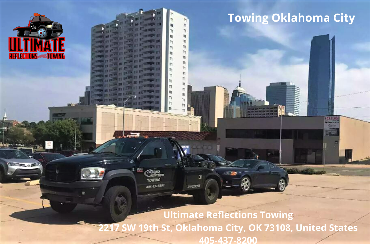Ultimate Reflections Towing LLC Extends Towing Service Area to Edmond, Oklahoma