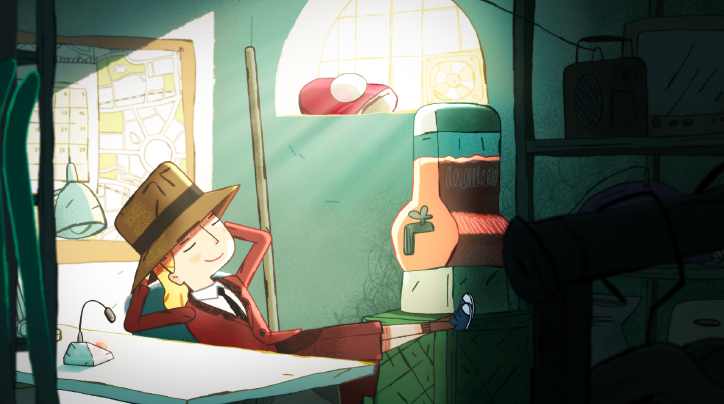 Animated Family Feature 'Agathe-Christine: Next Door Spy' is a Mystery for the Kids