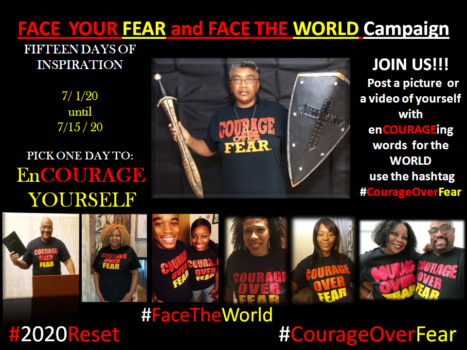 Courage Over Fear Productions Announces Face Your Fear, Face The World Campaign