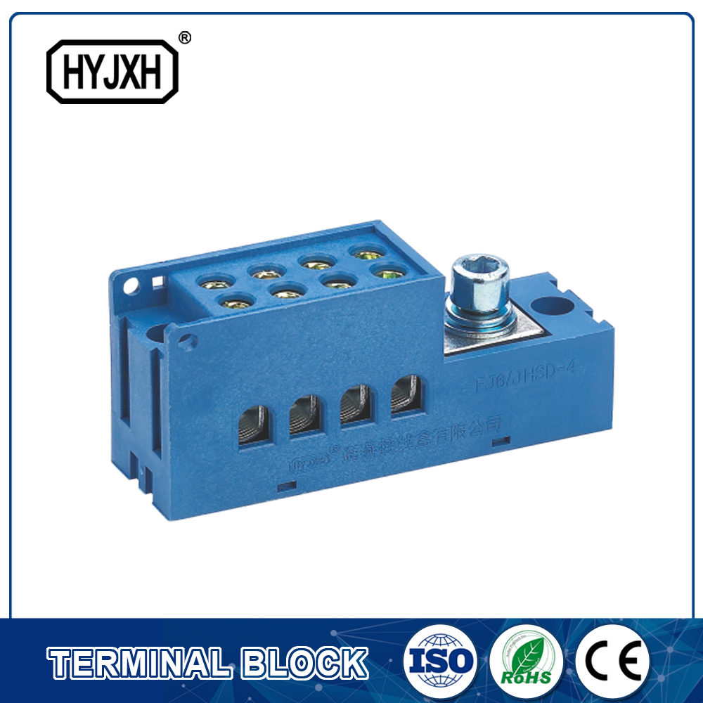 Product Selection Guide for terminal blocks for electrical and electronic distribution