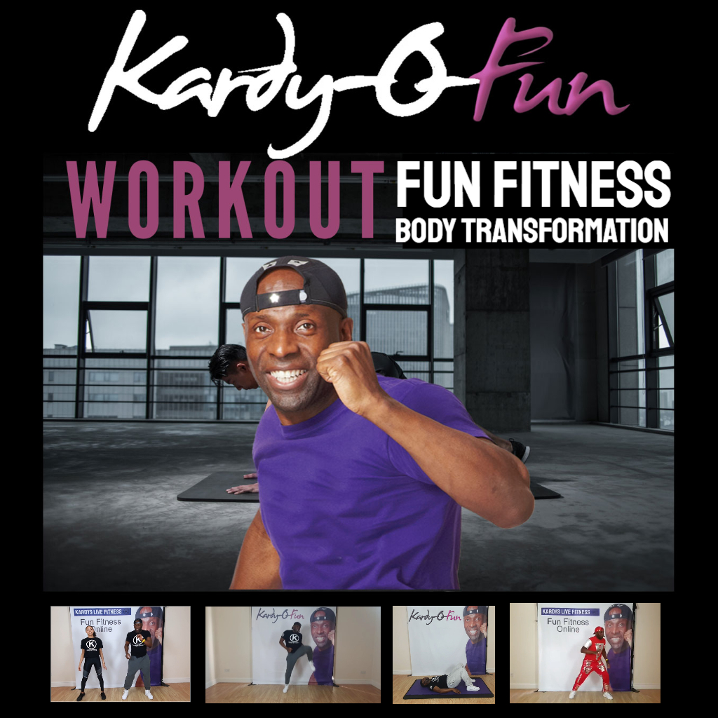 Kardy Laguda launches Kardy-O-Fun, a new online on-demand fitness workout platform