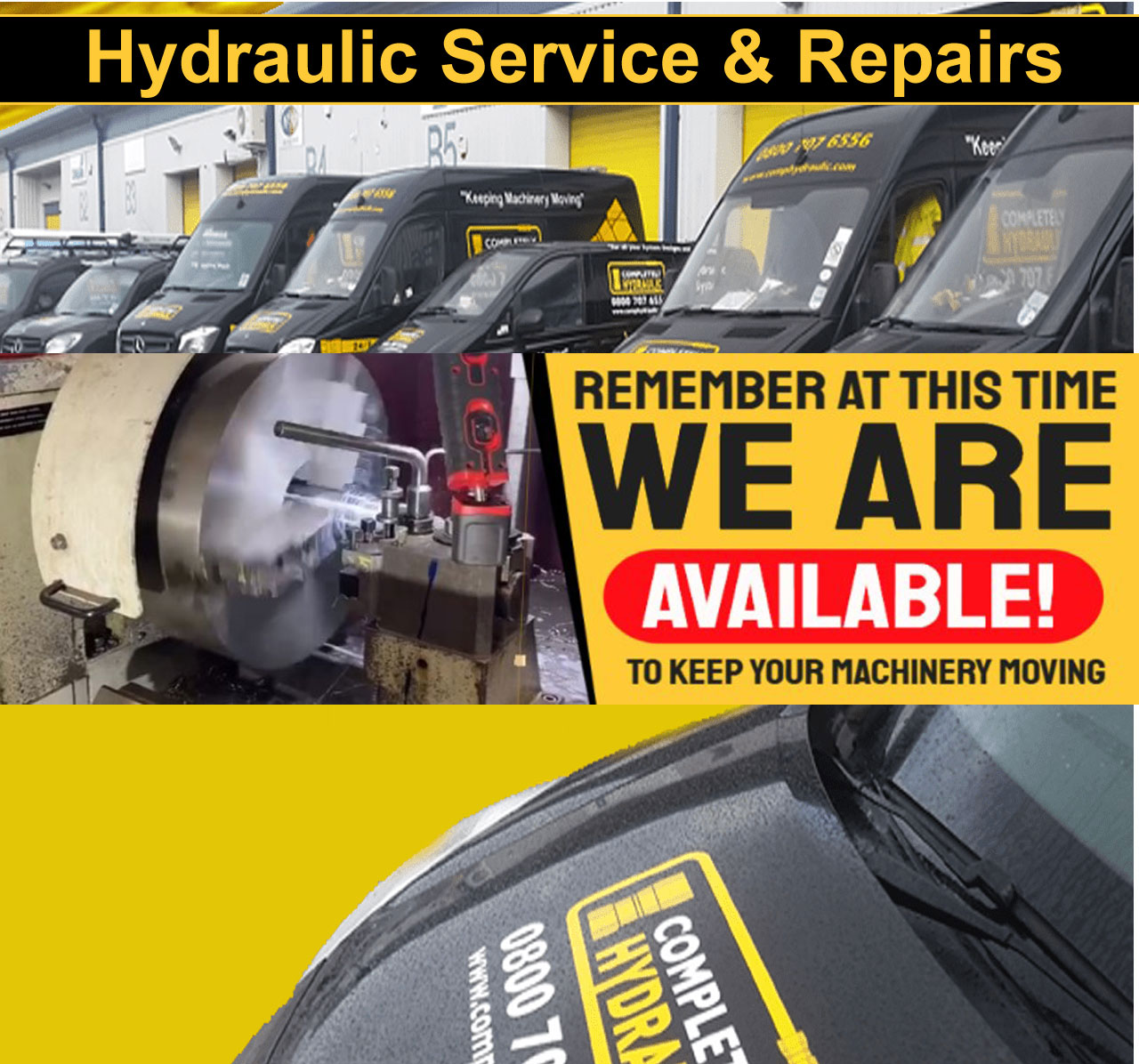 Completely Hydraulic continues exemplary 24-hour service delivery amidst COVID-19 pandemic