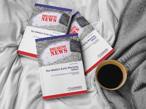 """Communications Strategist and Media Diplomat, Dr. Vassilia Orfanou, Author's book, """"The Media's Early Warning Effect in the Timelier Deployment of Peacekeeping Operations"""""""