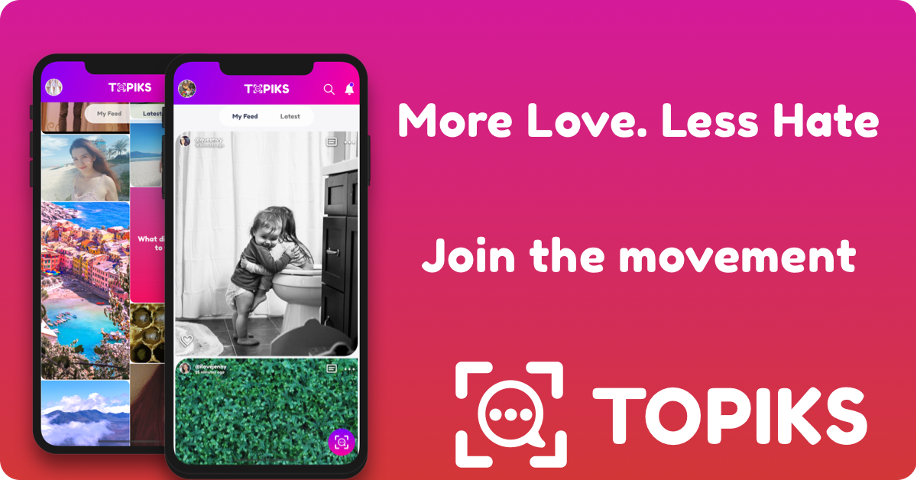 An LA-based Start-up Promises an Unbiased Social Platform Through their App: Topiks