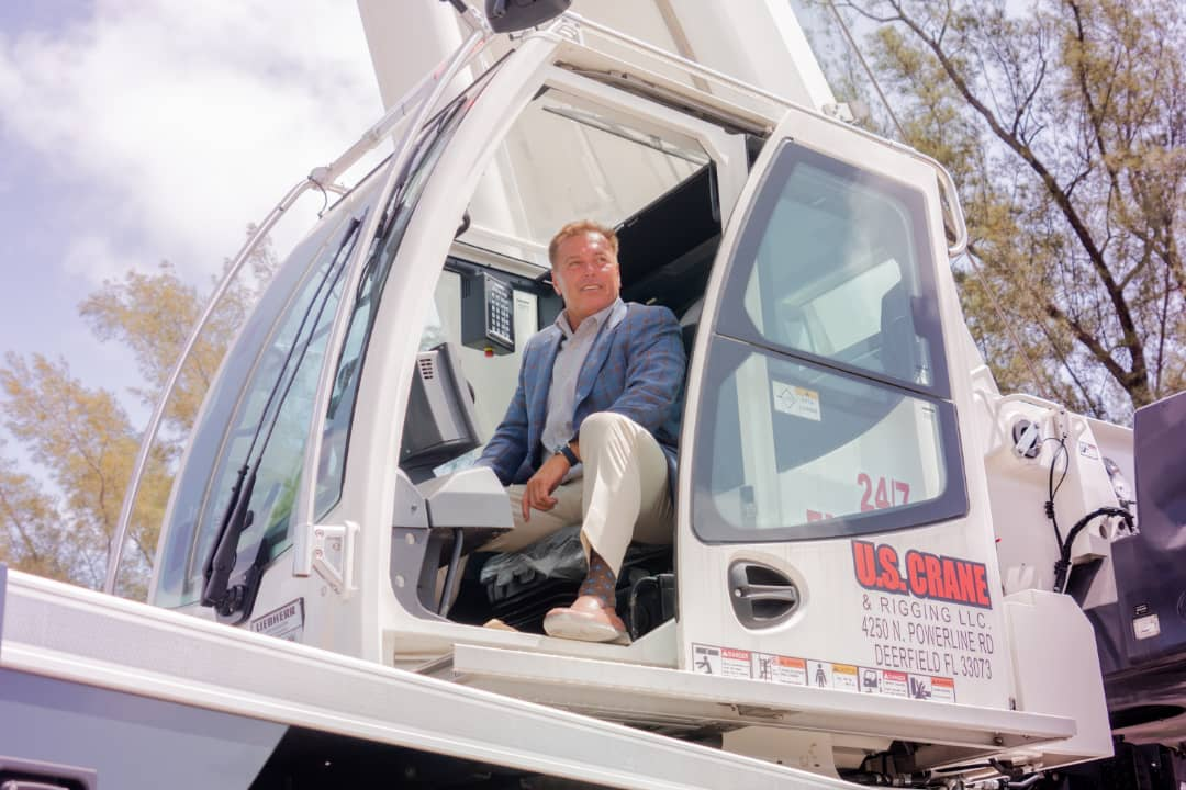 How Business Magnate Thomas Auringer is Building America One Crane at a  Time – Indiana Headlines