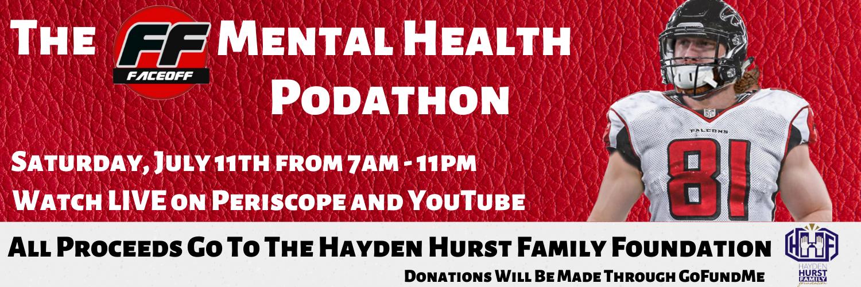 FF Faceoff Organizes 16-Hour Mental Health Podathon to Raise Fund For Mental Health Awareness