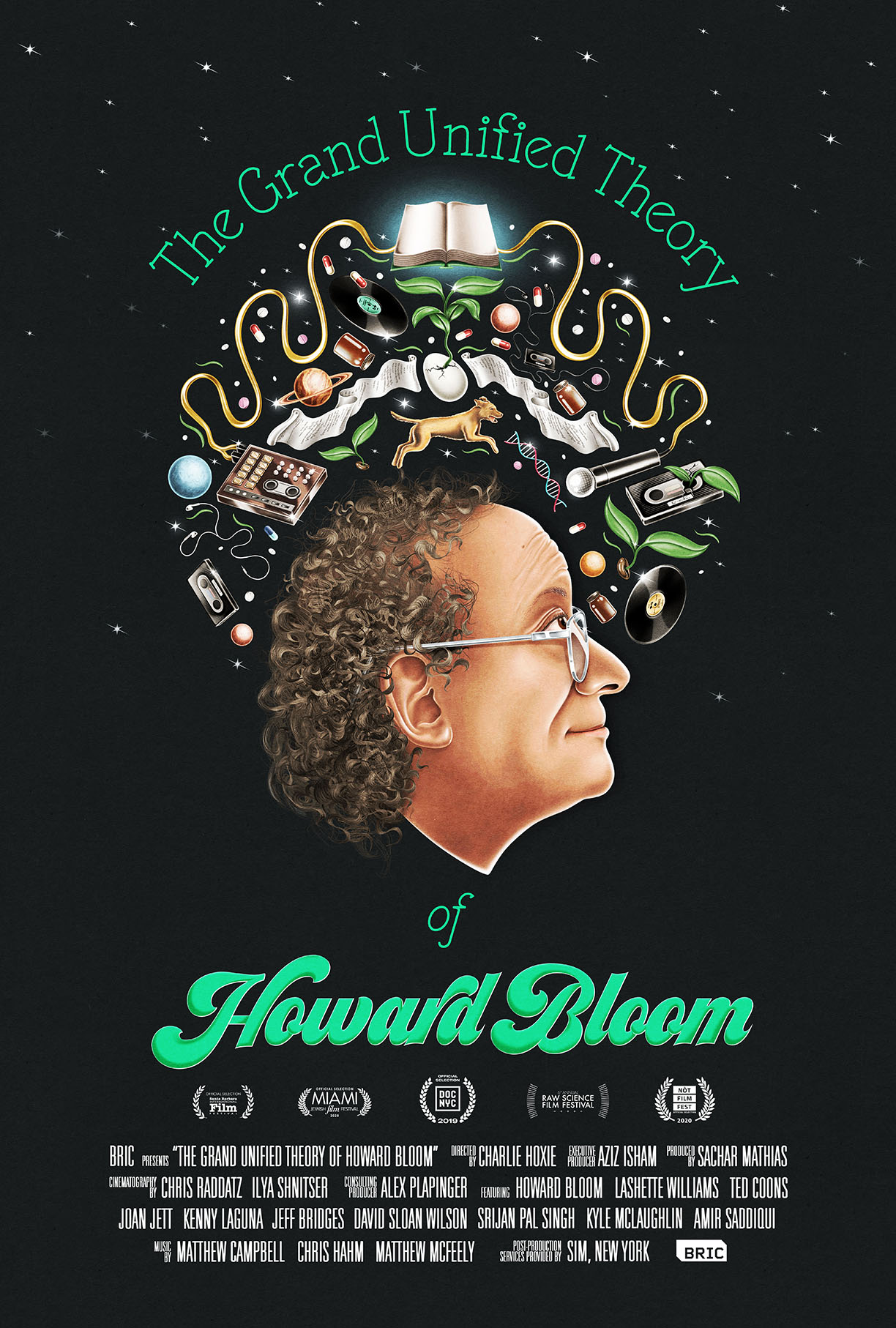 "The Highly Anticipated Documentary ""The Grand Unified Theory Of Howard Bloom"" Available July 21st, 2020"