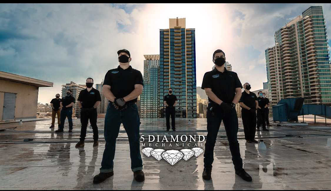 5 Diamond Inc.: building mechanical systems that provide thermal comfort for occupants accompanied by indoor air quality