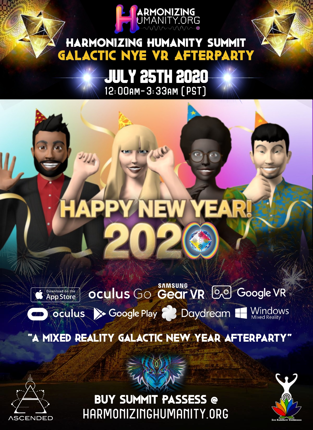 Harmonizing Humanity Sends Out the Call for Global Citizens to Attend Exciting Global Summit Taking Place July 24th-27th 2020