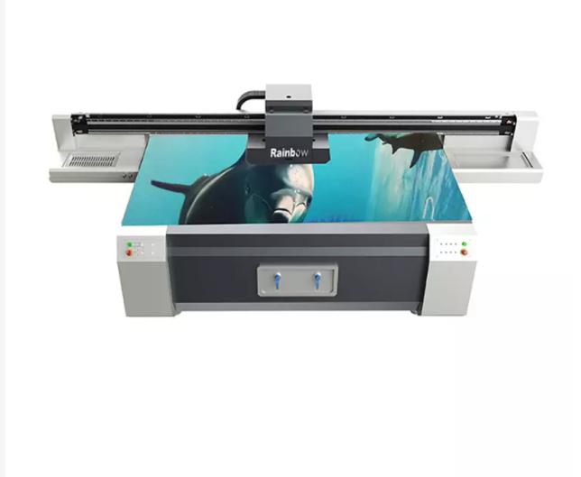 How to do setup after receiving a small UV flatbed printer?
