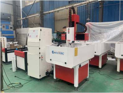 Hot Inquiry CA-4040 Metal Mould CNC Router with High Configuration