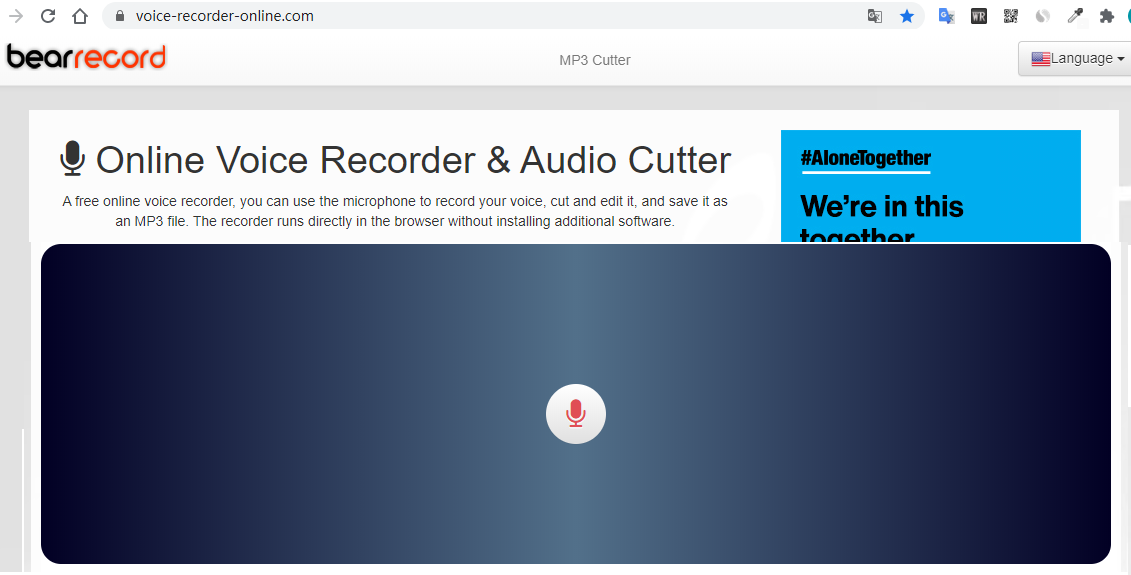 Free and Online Voice Recorder and Audio Cutter Makes Creating and Handling Audio Files Fast and Easy