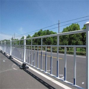 Precautions for installation of zinc steel road fence
