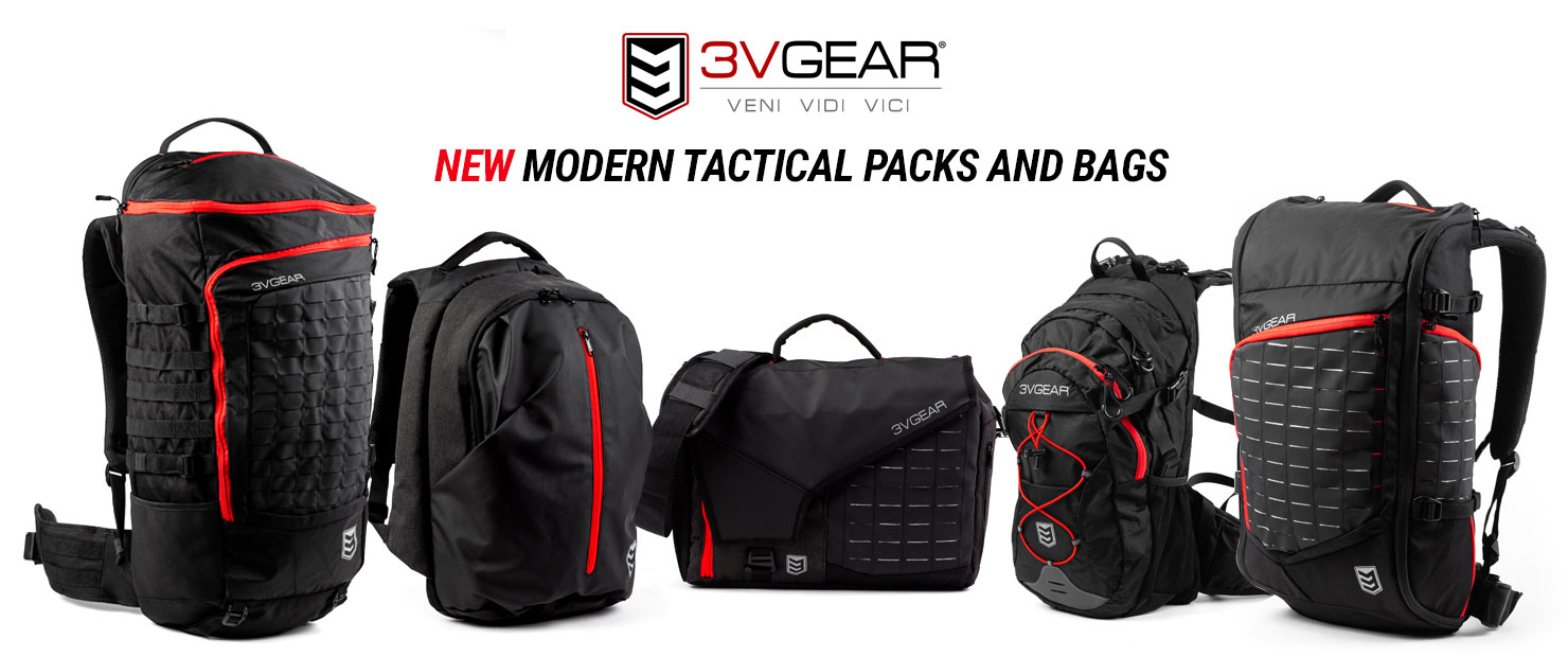 Just released. New modern tactical backpacks from 3V Gear.