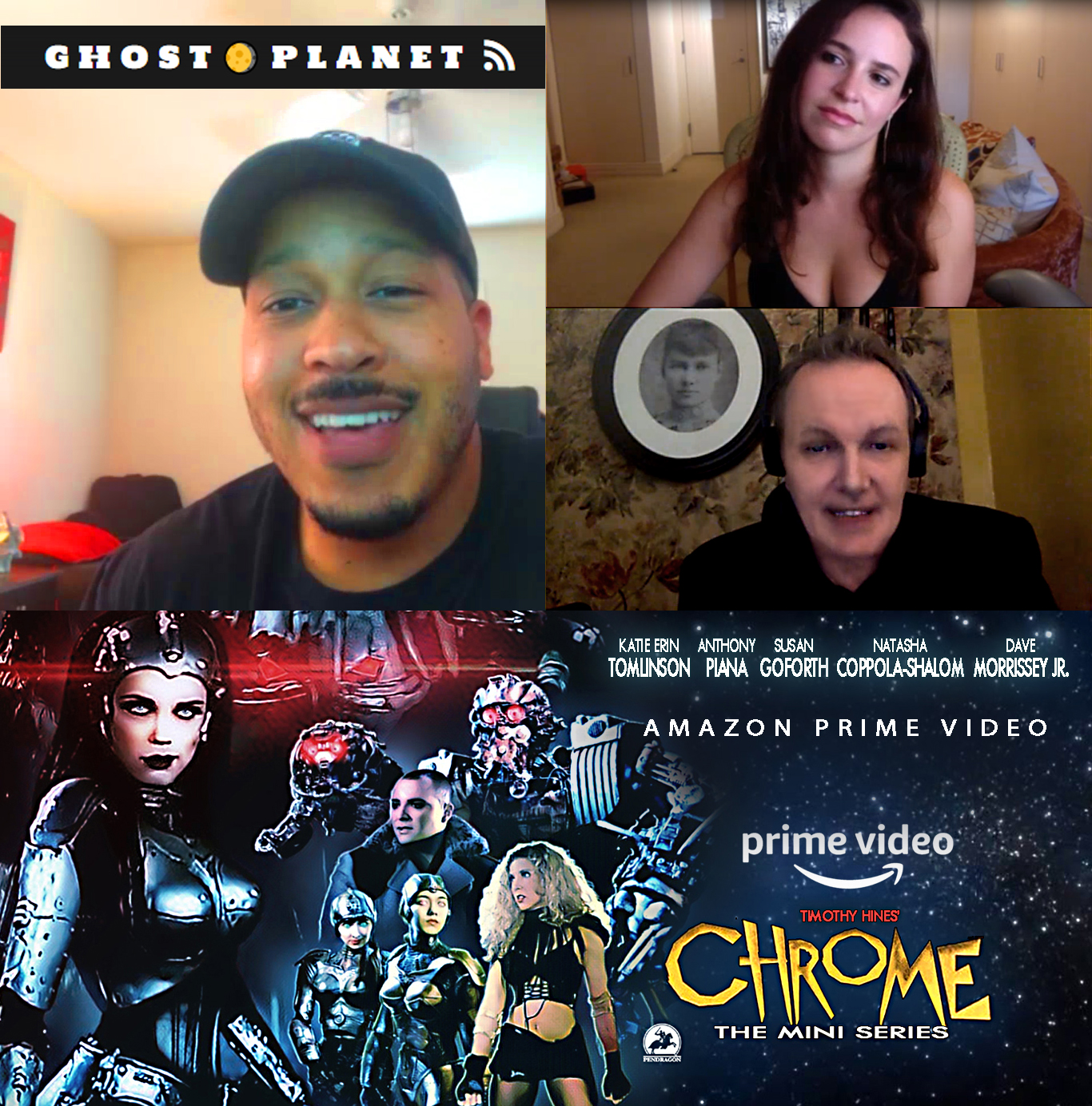 Ghost Planet Studios Podcast New Interview With Makers of Amazon Hit Chrome The Series
