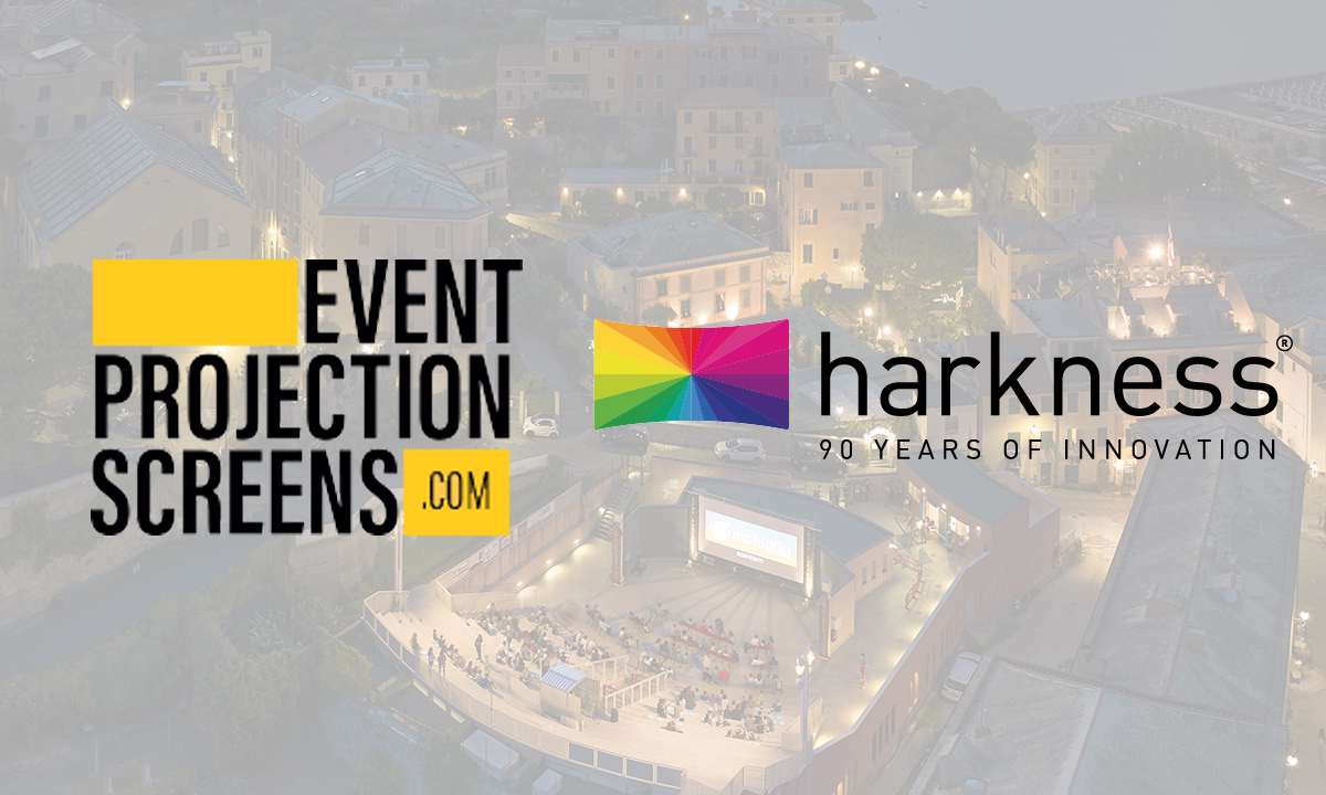 After teaming up with Event Projection Screens, Harkness Screens launches Harkness Protect for online ordering