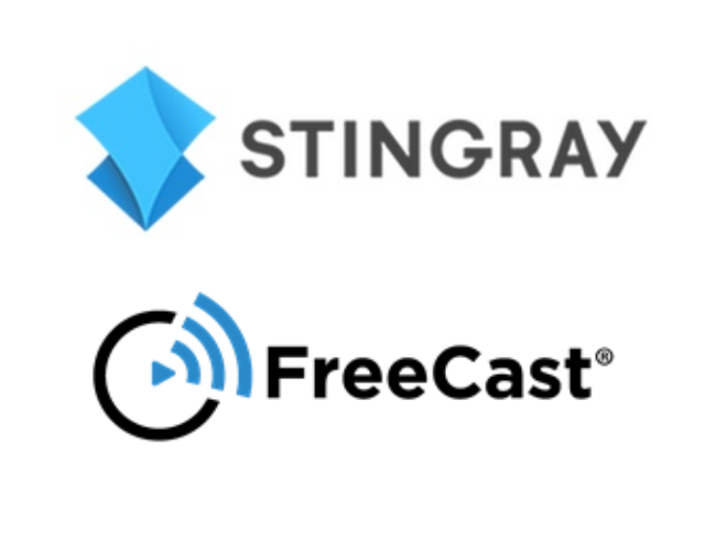 FreeCast Partners with Stingray to Offer its Free, Ad-supported TV Channels and Popular Audio Channels