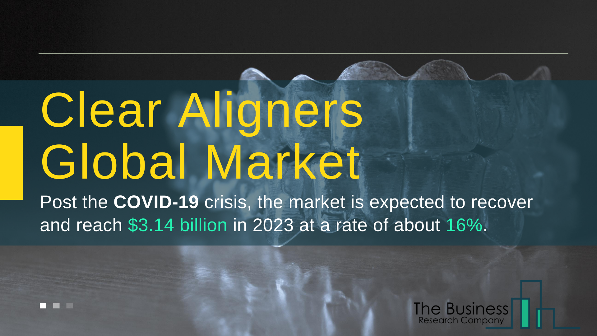 Global Clear Aligners Market Value Expected To Reach $3 billion By 2023