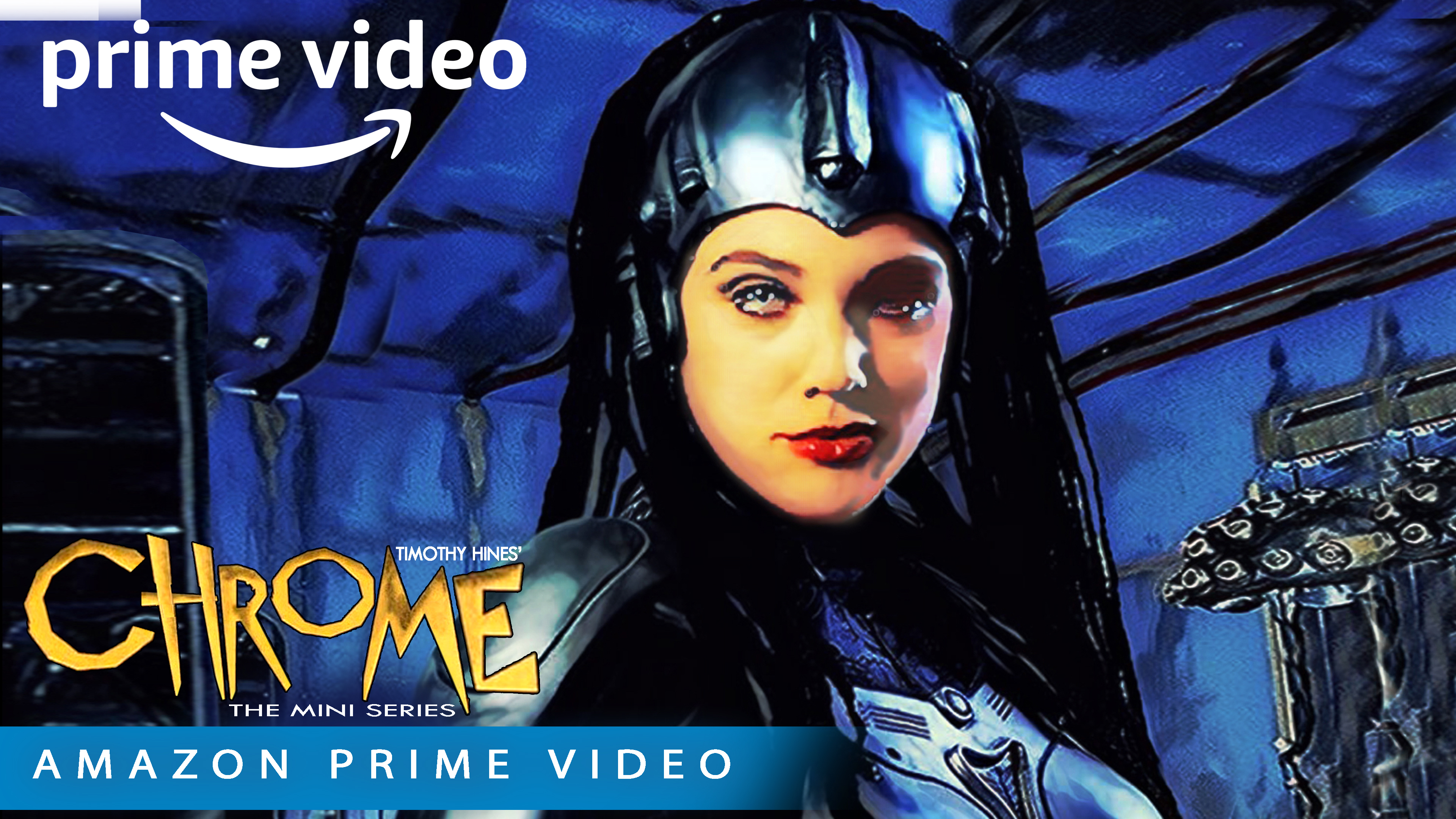 Watch The Trailer - Hit Chrome The Series Innovative Golden Age Retro Style Superhero Thriller on Amazon Prime