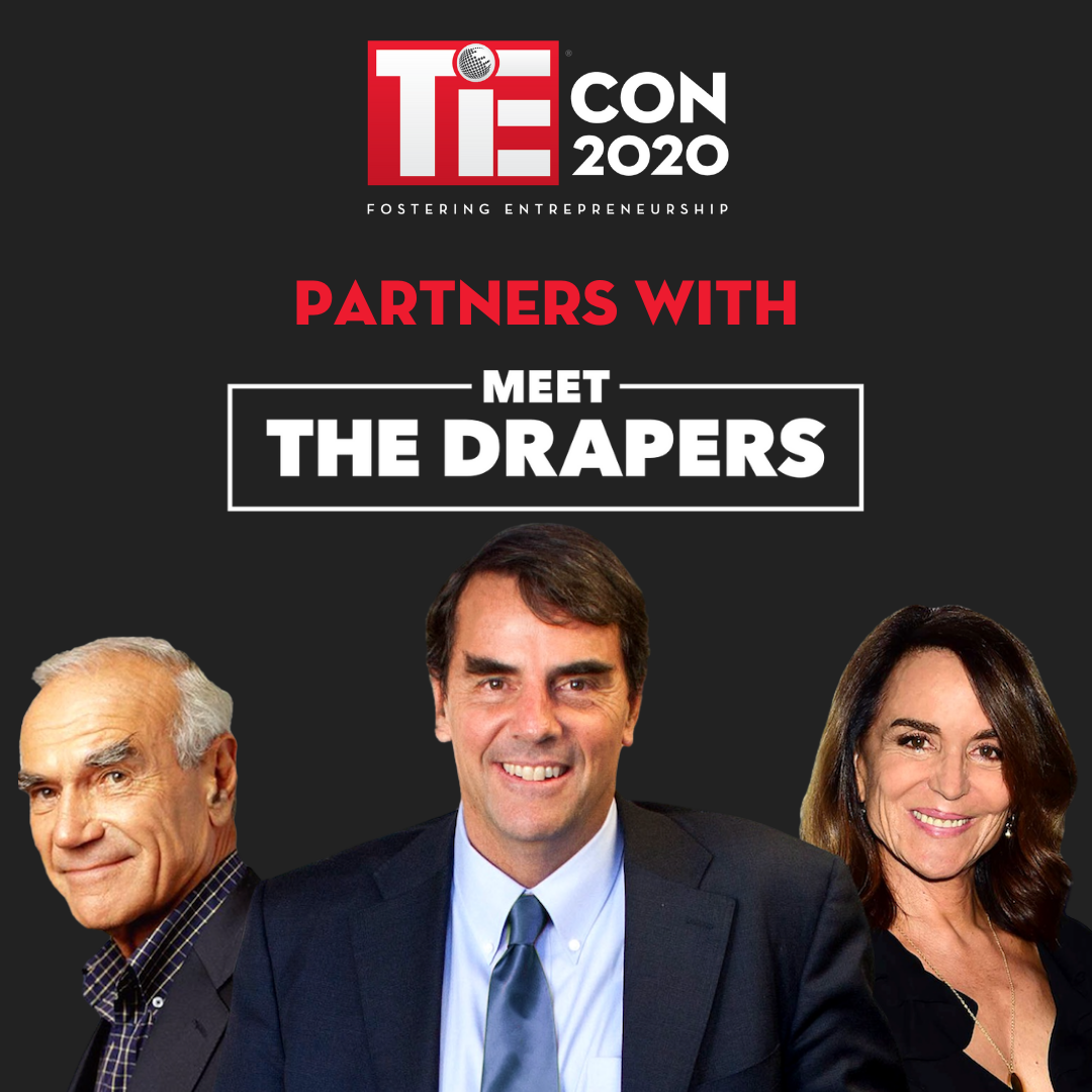 TiEcon 2020 partners with 'Meet The Drapers' for the TiE50 awards