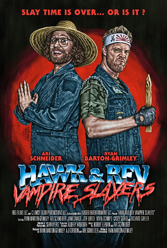 Hawk and Rev: Vampire Slayers to play Dances with Films film festival