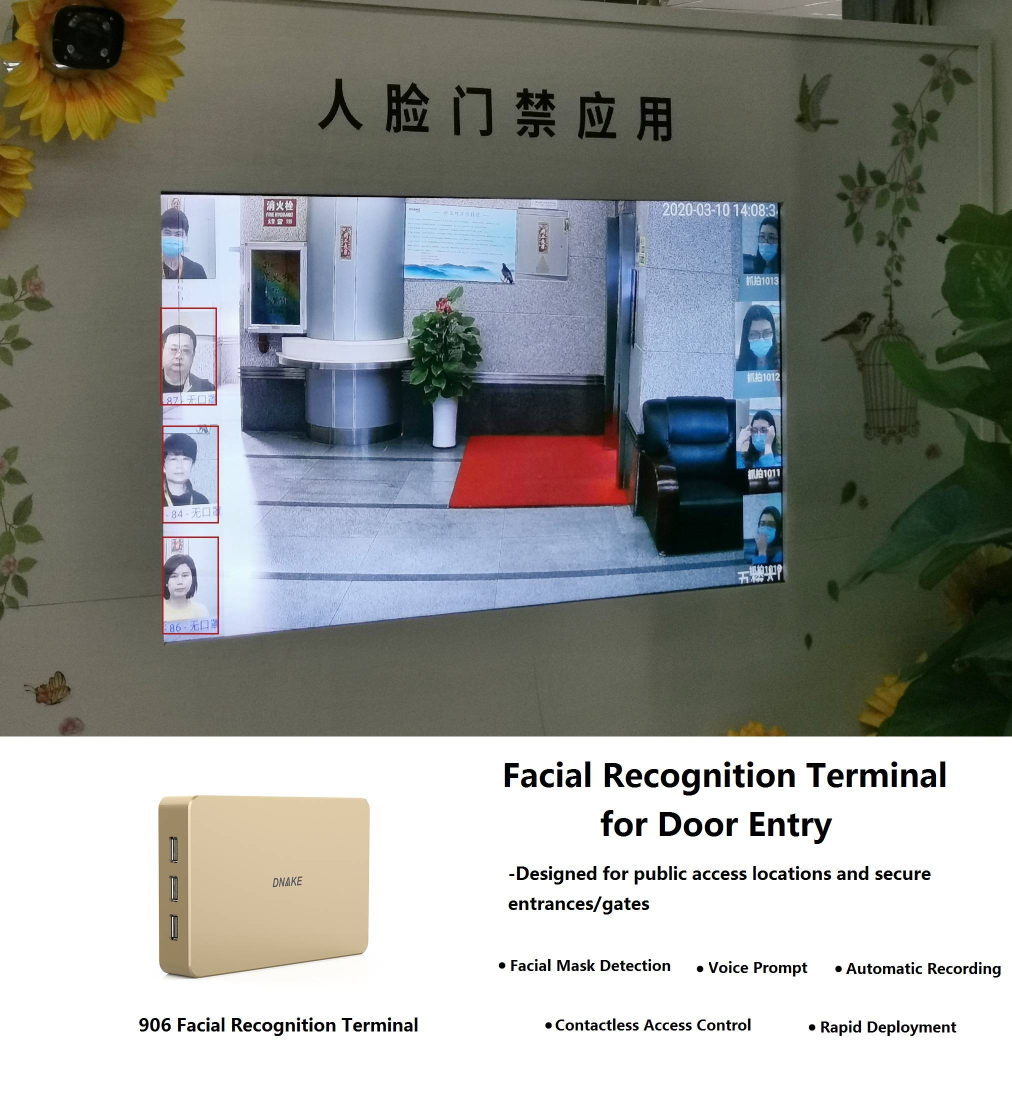 AI Facial Recognition Terminal for Smarter Access Control