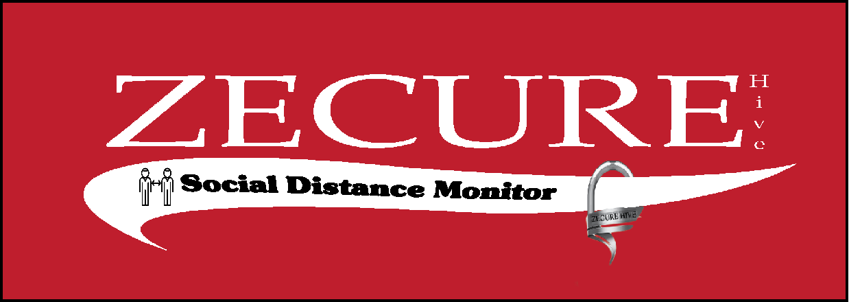 Artificial Intelligence and Social Distancing, ZECUREHive Releases its Social Distance Monitor