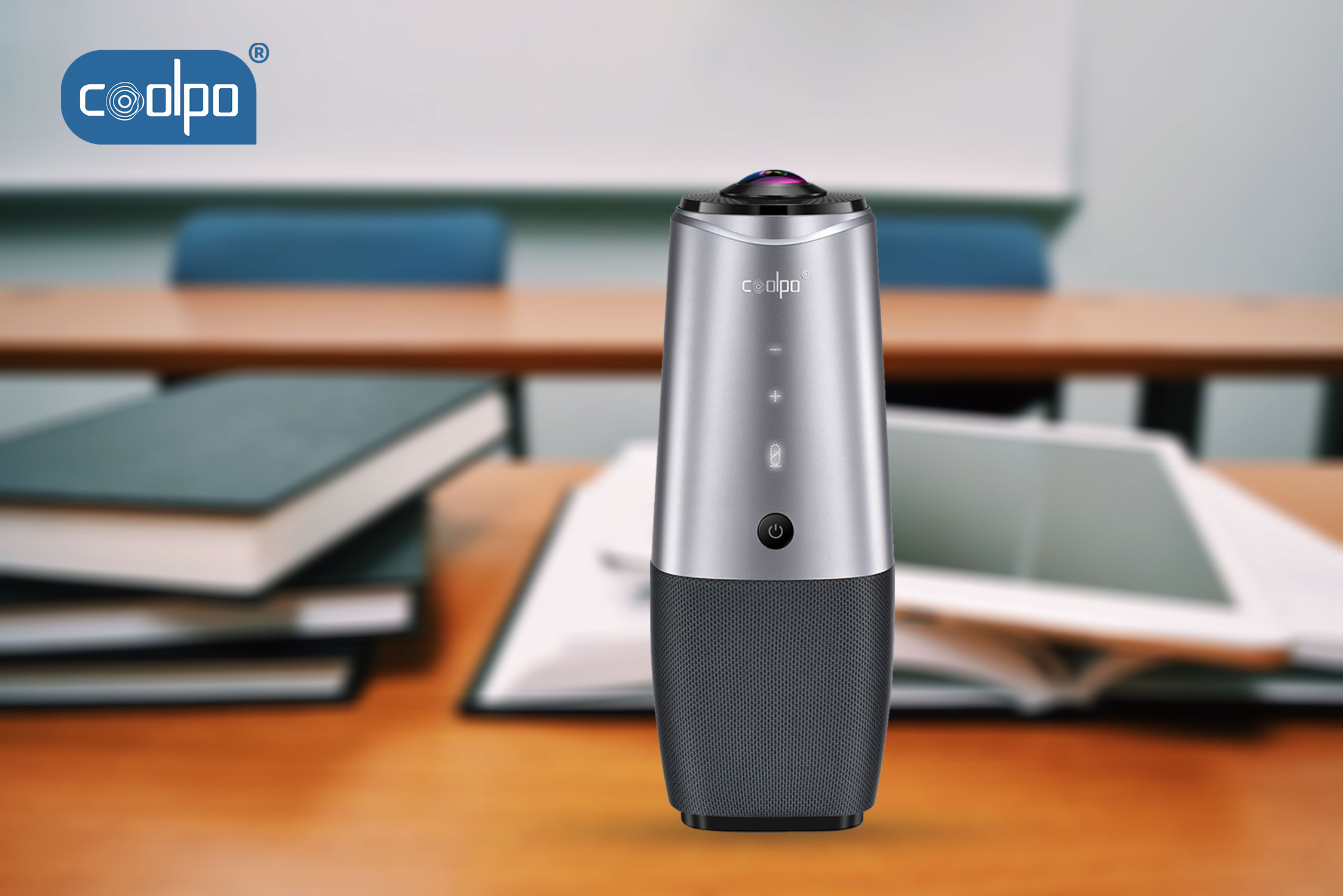 The 360˚ Conferencing Camera For Virtual Class In Education Sector