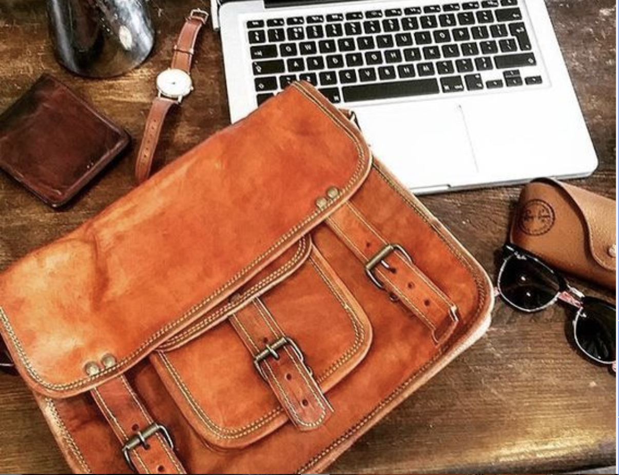 High On Leather Announces Fashionable Leather Bags for Men That are Perfect for Office