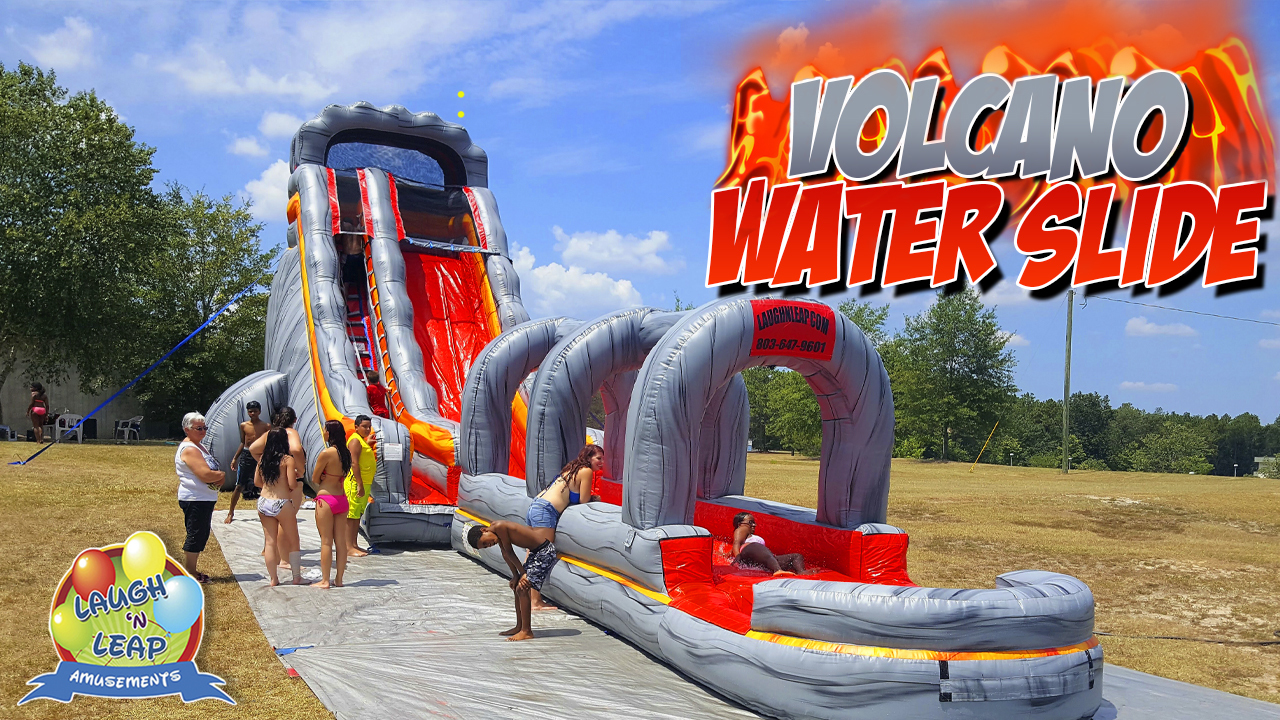 Laugh 'n Leap Offers Sumter Residents and Businesses Great Fun with Bounce Houses, Water Slides and Party Games