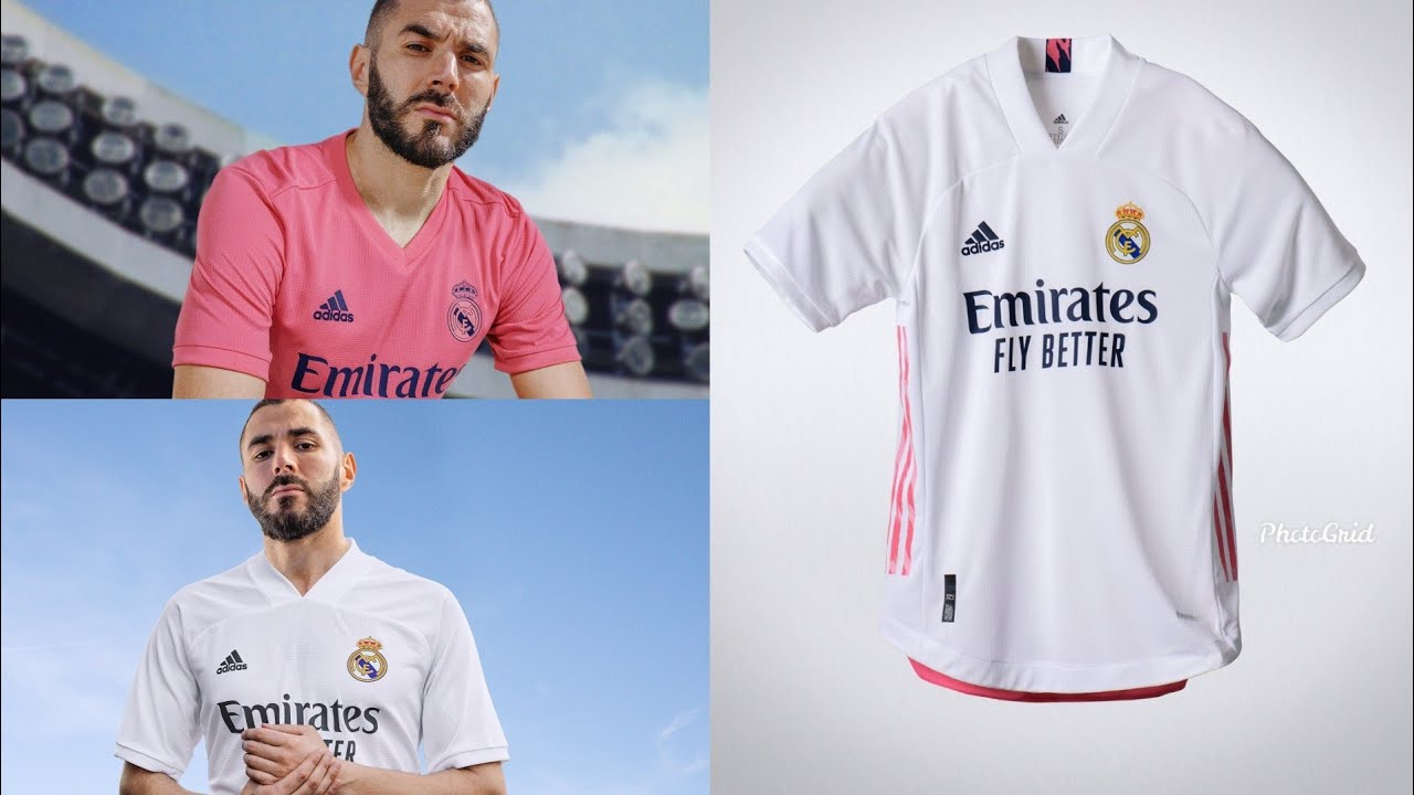 Real Madrid New 2020/21 Season Home And Away Kits - La Liga Football Kit