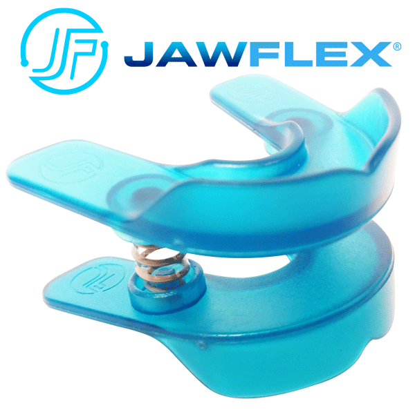 Introducing the JawFlex, an innovative jaw exercise device that builds facial muscles and strengthens the jawline