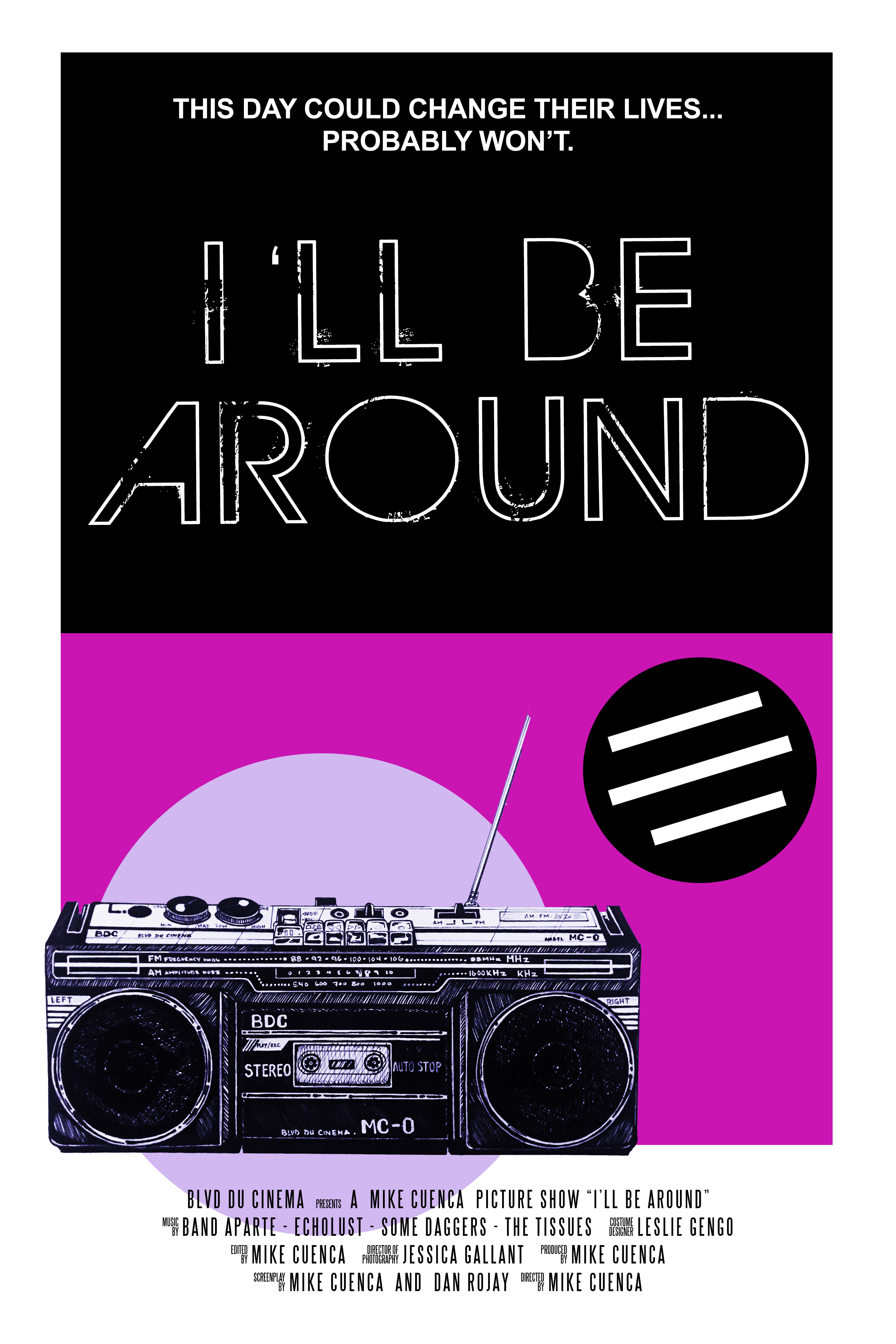 Music-infused I'll Be Around gets digital release September 23