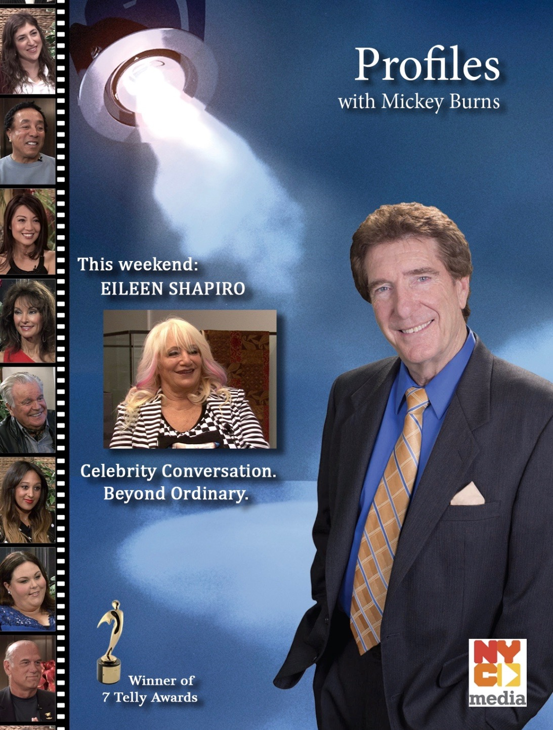 "Rock Star Journalist Eileen Shapiro To Guest On ""Profiles With Mickey Burns"" Saturday 9/19/20"