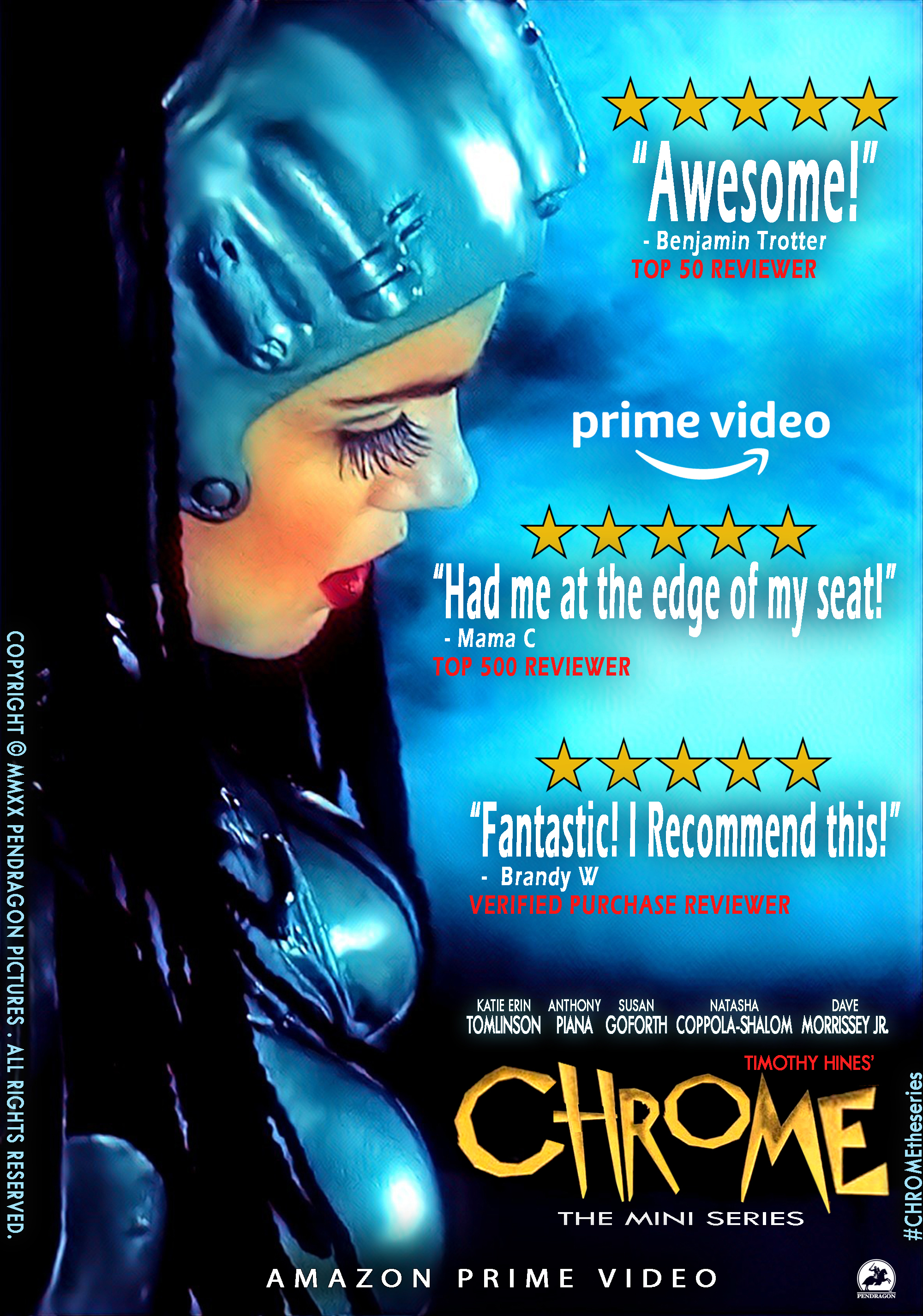Chrome The Series is Blowing up the Internet, Garnering Praise and Raves from Viewers