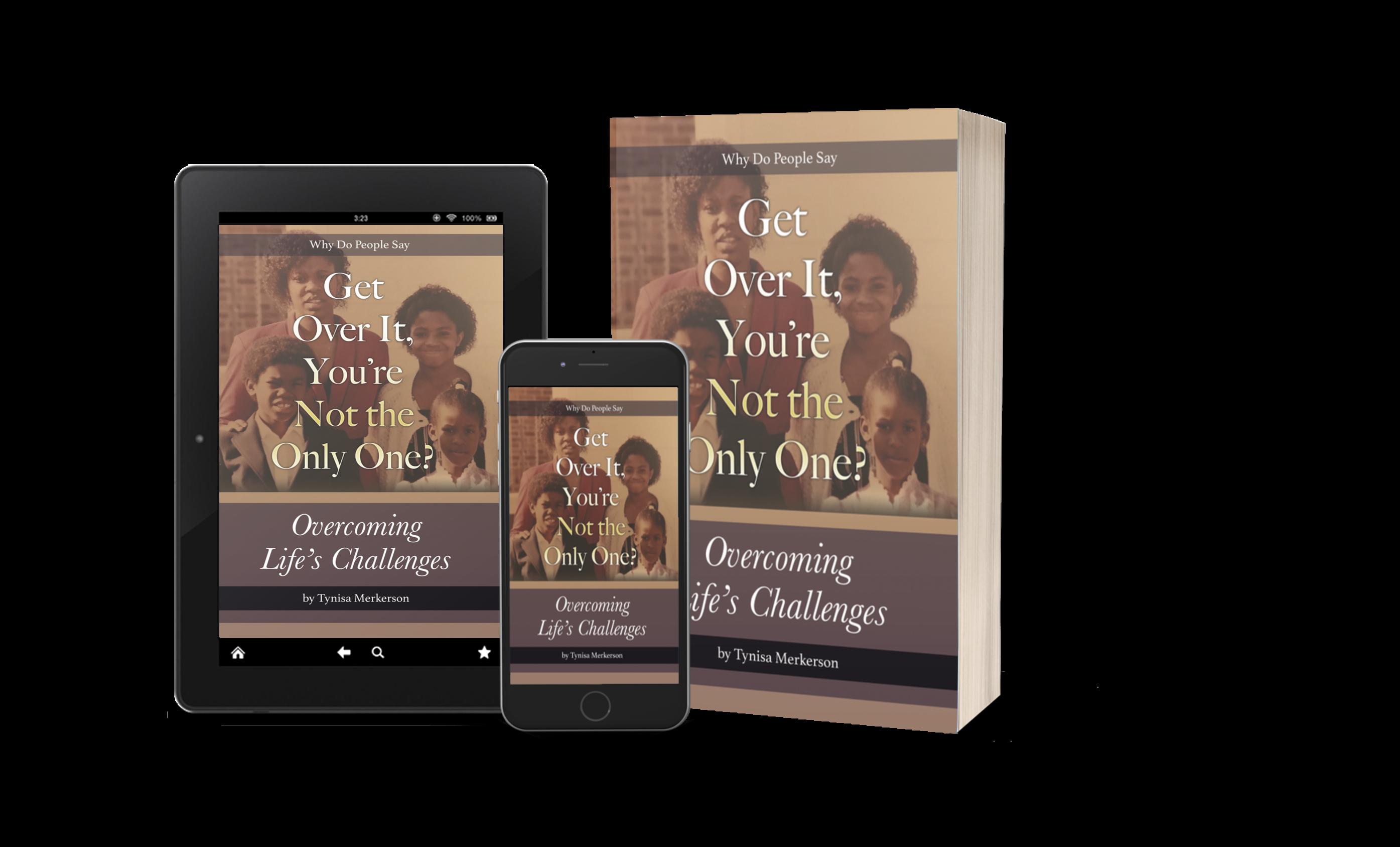 Tynisa Merkerson's New Book Addresses Overcoming Life's Challenges