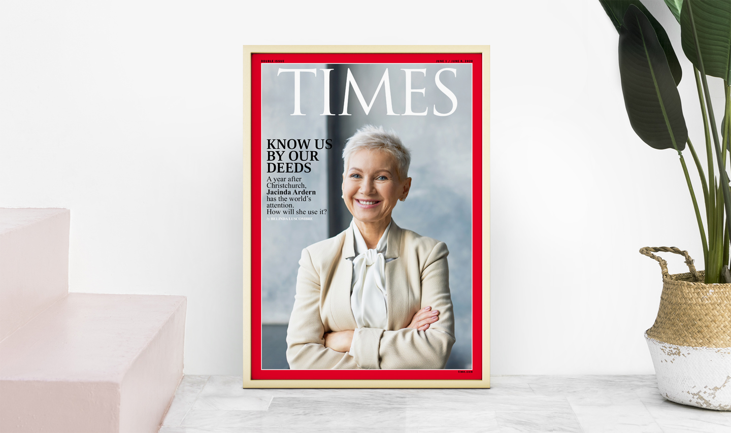 Your Cover Gift is a magazine cover that is a new 2020 line of bespoke gifts for everyone