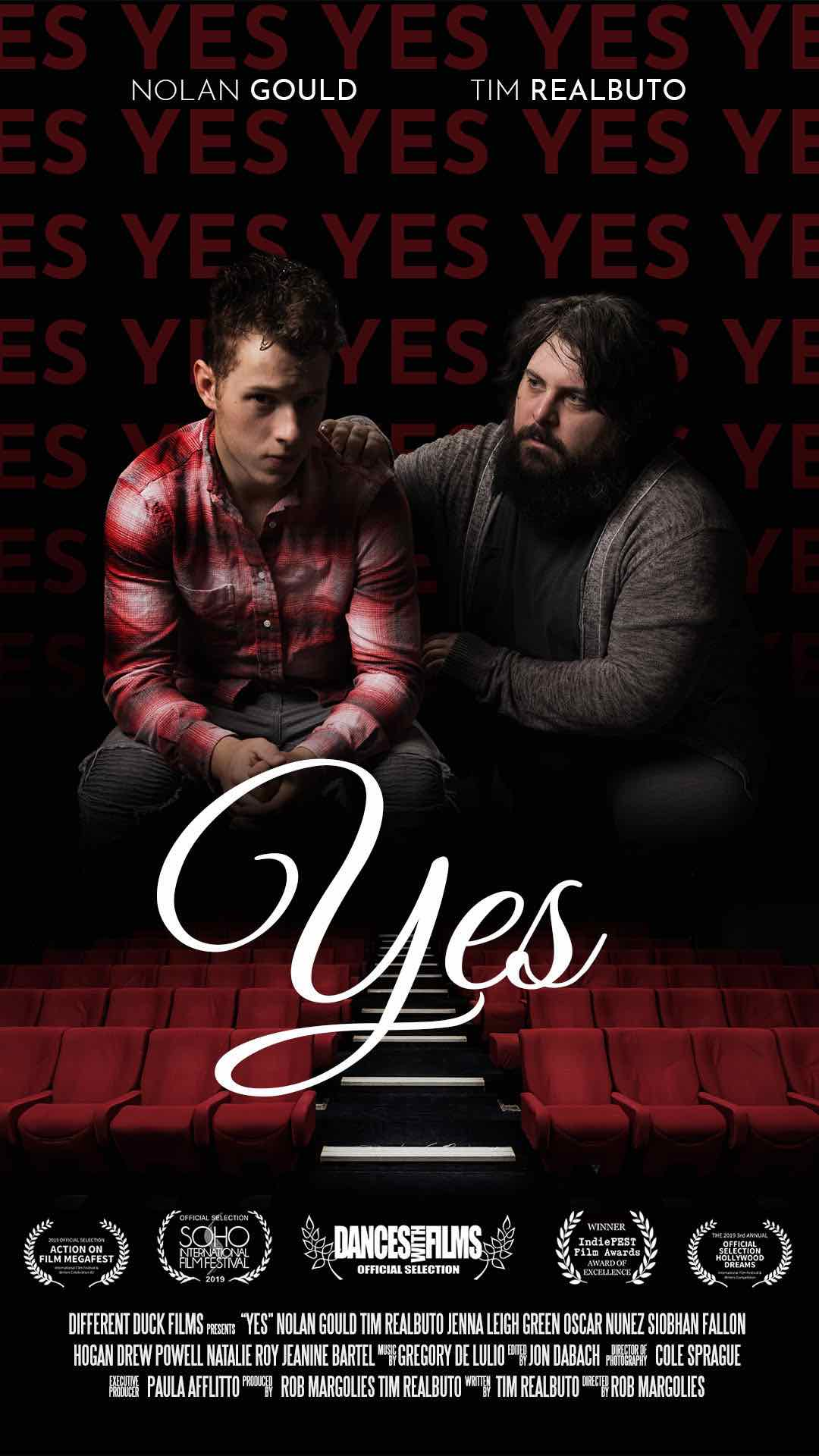 Nolan Gould and Tim Realbuto star in YES