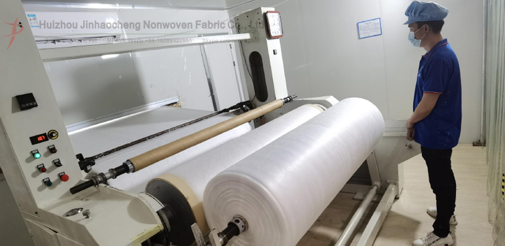 A method for rapid adjustment of melt blown nonwoven fabric