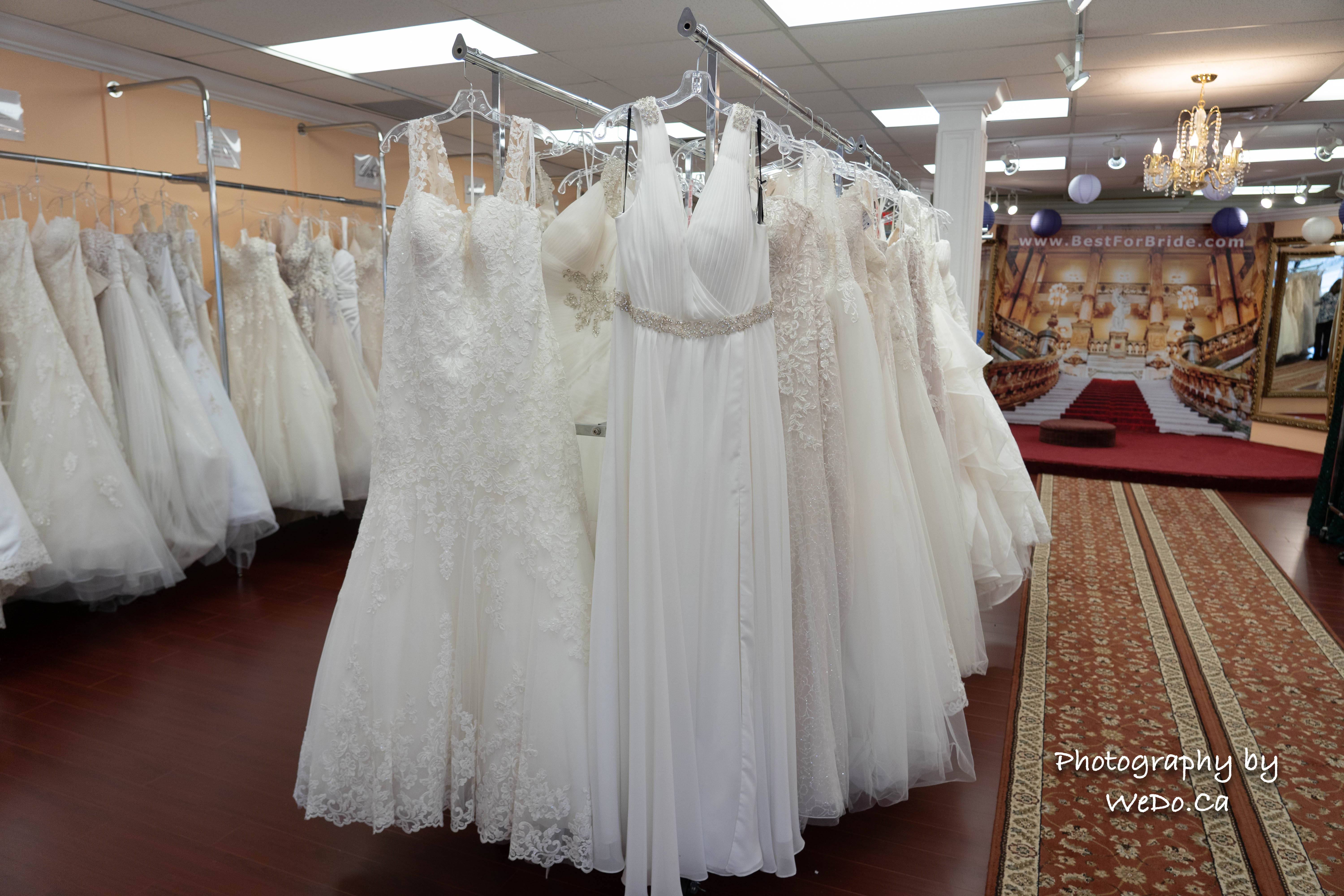"Best for Bride listed among the ""Top 3 Bridal shops in Barrie, ON"""