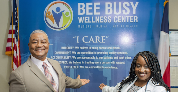 Bee Busy Wellness Center Selected to Address Racial Inequities in COVID-19 Response Efforts