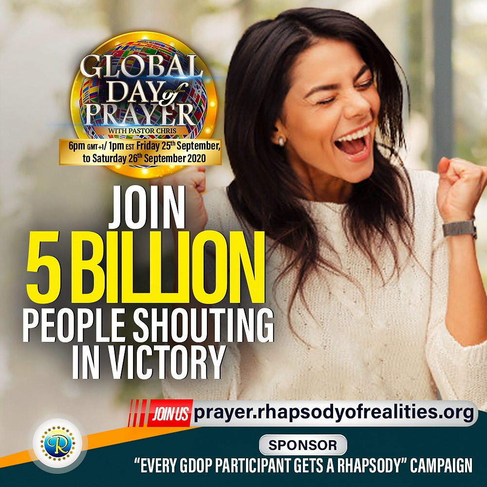 LoveWorld Networks Broadcasts The 'Global Day of Prayer'