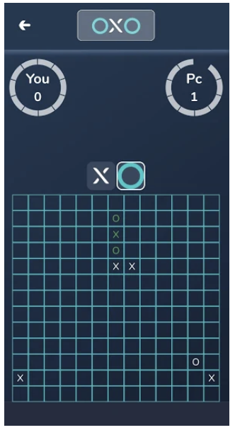 New App OXO Re-invents Tic-Tac-Toe as a Multiplayer Game with AI Mode