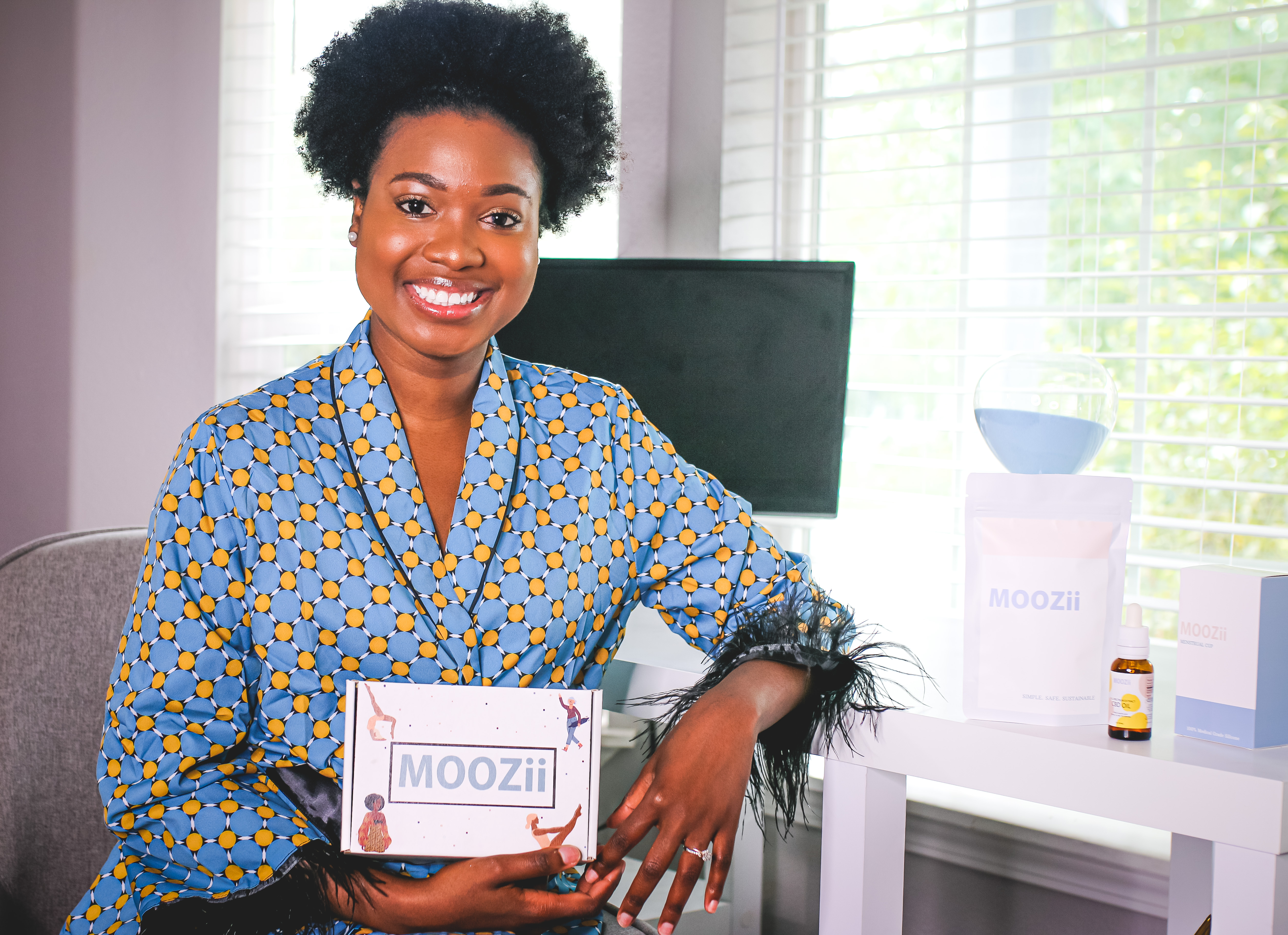 Feminine Beauty Enthusiast Tiffany Johnson disrupts the industry with the launch of MOOZii