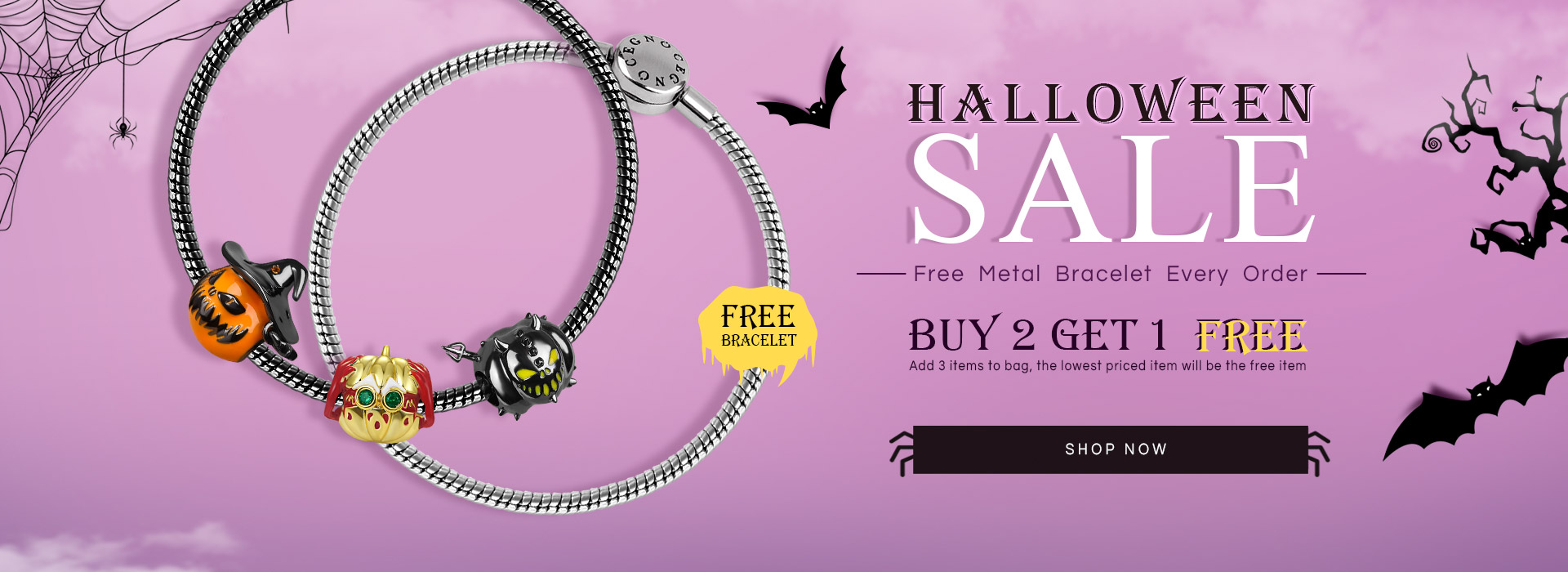 Halloween 2020: The Best Spooky Jewelry Gifts are now on Sale on Gnoce.com