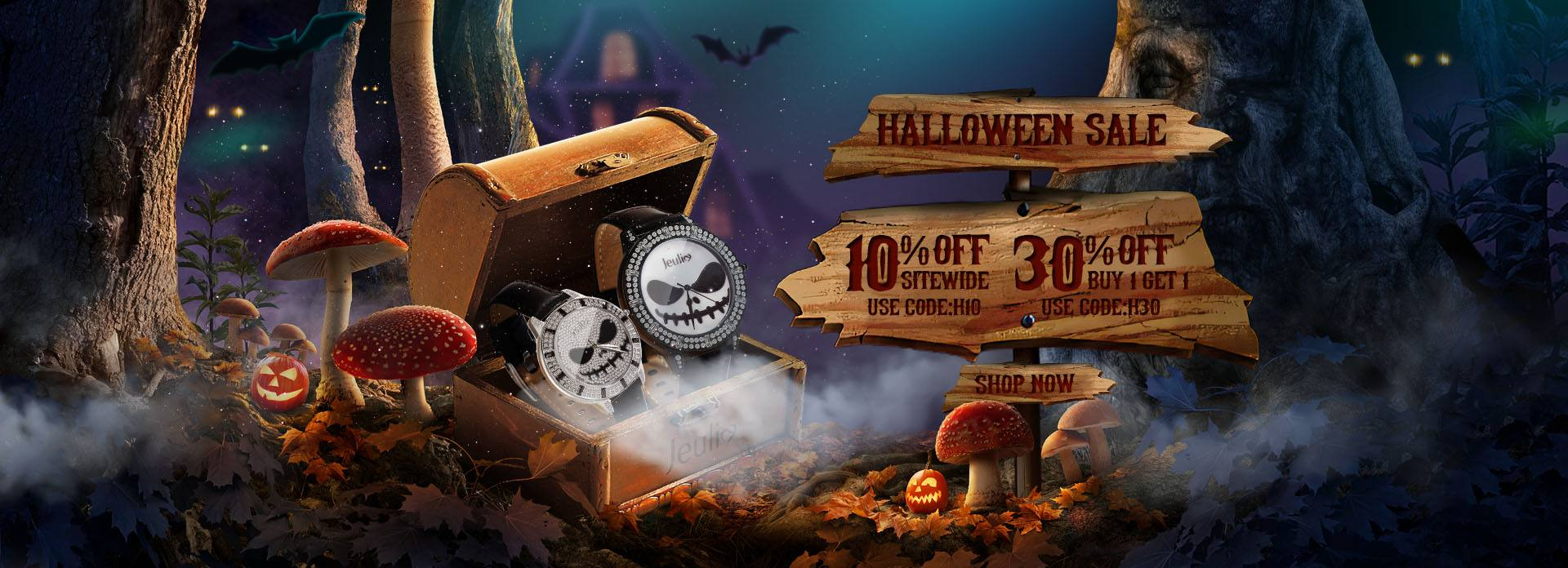 Jeulia Halloween Sale 2020 launched with Great deals on Jewelry
