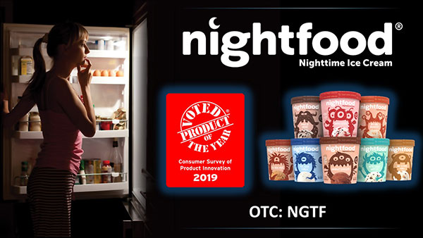 Stock Symbol: NGTF (Nightfood Holdings Inc.) Ice Cream is Solving America's $50 Billion-Dollar Nighttime Snacking Problem and Lining up Major Distribution Partners Quickly